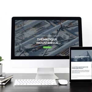Site internet pour industrie - Strasbourg